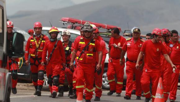 Se registraron 125 emergencias en diversas zonas de la capital. (Foto: Andina)