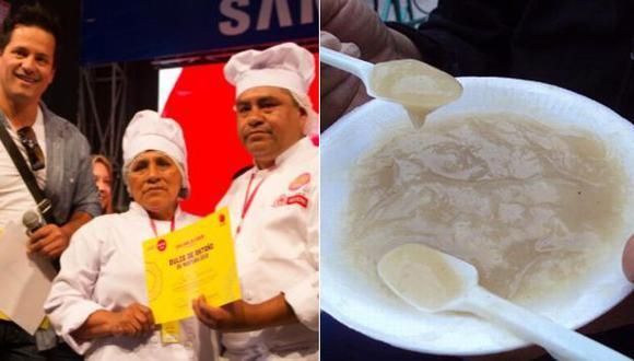 Faustino Fernández agradeció a su madre por inculcarle el amor por la cocina. (elcomercio.pe/Internet)