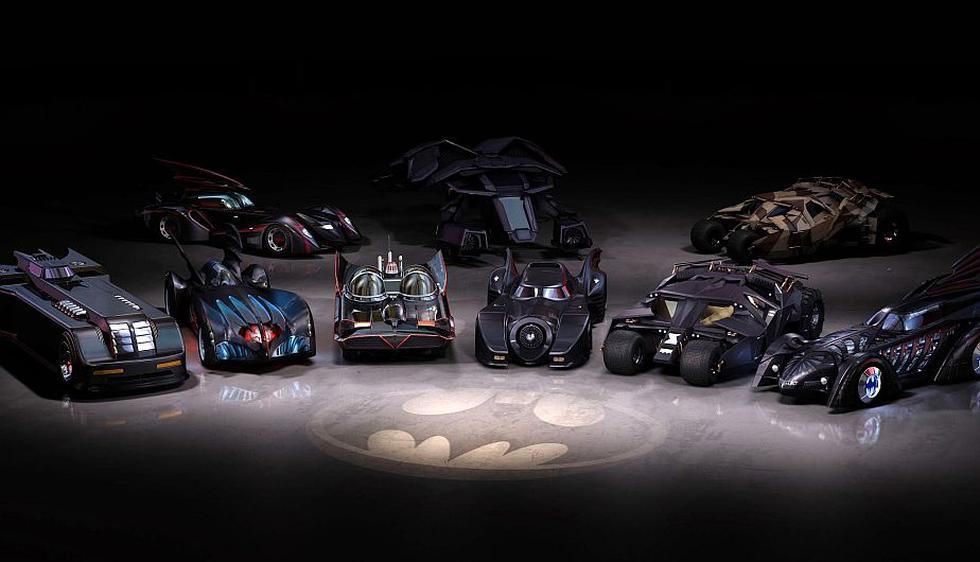 Batman: La evolución del Batimóvil a través de sus modelos más populares. (wallpaperup.com)