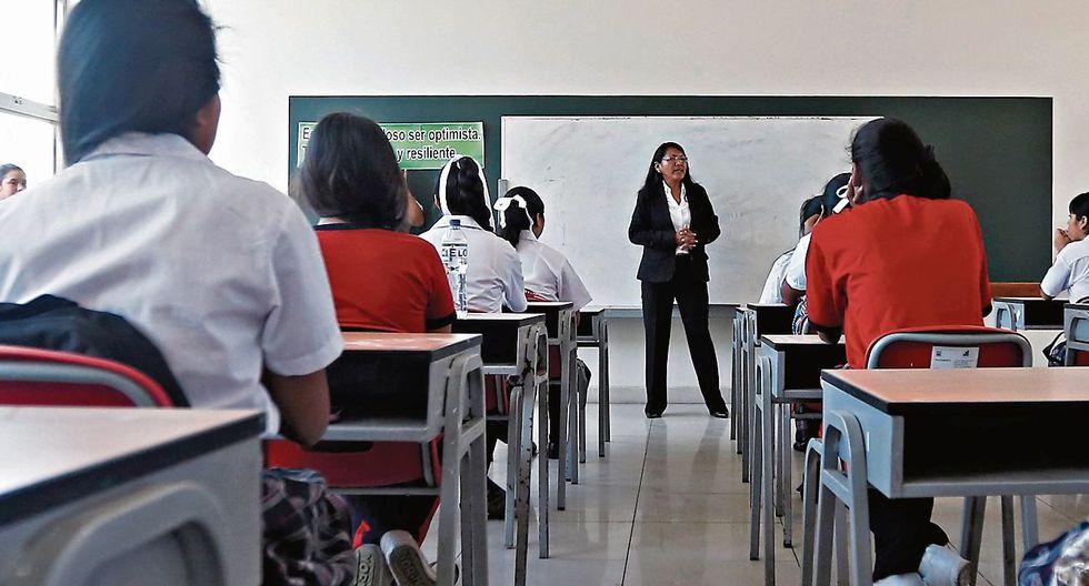 NUEVOS TIEMPOS. Escolares afrontarán un nuevo reto.