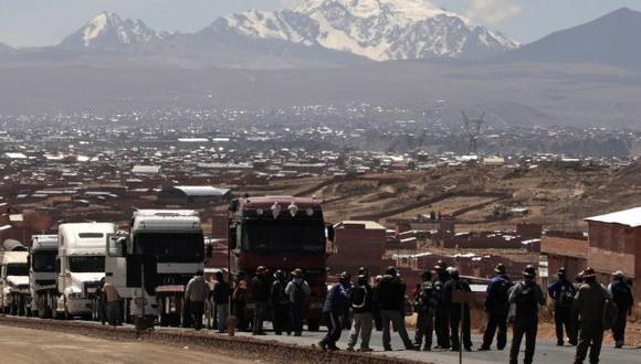 Nadie puede salir de La Paz. (Reuters)