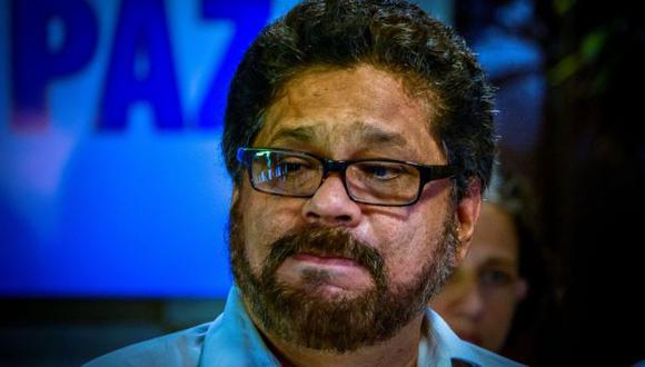 Iván Márquez está en Cuba. (AFP)