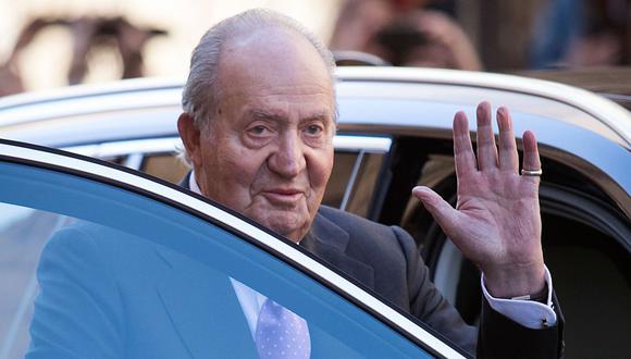 Juan Carlos de Borbón, de 81 años y padre del actual monarca, Felipe VI, ingresó anoche en el hospital. (Foto: AFP)