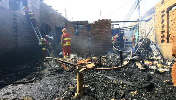 Al menos cinco personas resultaron heridas en la explosión. (USI)