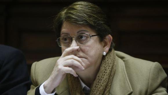 Lourdes Alcorta se mostró indignada. (Perú21)