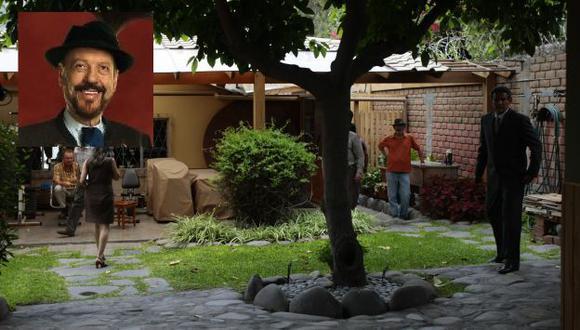 ESCENA DEL CRIMEN. Vigilante había sido contratado como guardián de la casa en Chaclacayo. (David Vexelman)