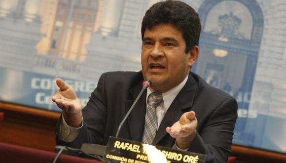 Rafael Yamashiro comentó pedido de Lourdes Flores Nano. (USI)