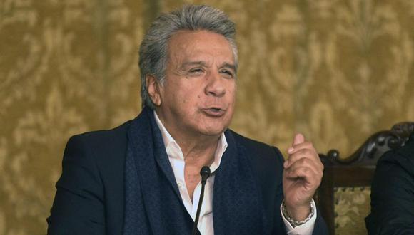 """Moreno enfatizó que el creador de WikiLeaks """"ha violado todas las normas de una convivencia racional"""". (Foto: AFP)"""