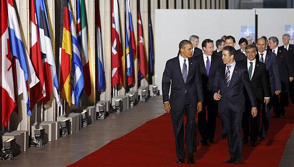 Líderes de la OTAN se reúnen en Chicago. (AP)