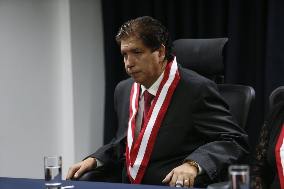 El consejero Iván Noguera pidió que se declare nulo el nombramiento del jefe de la ONPE. (Perú21)