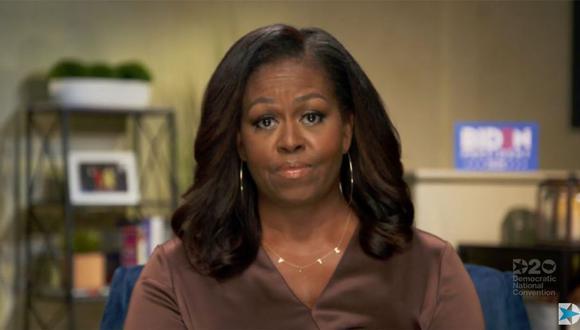 Michelle Obama es una de las oradoras en la convención demócrata. (AFP).