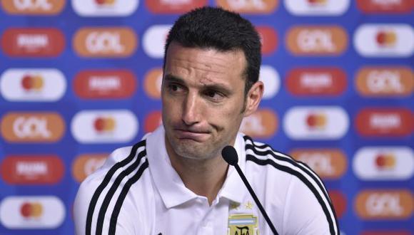 Lionel Scaloni subrayó la intención de ganar en el duelo ante Qatar por la Copa América. (Foto: AFP)