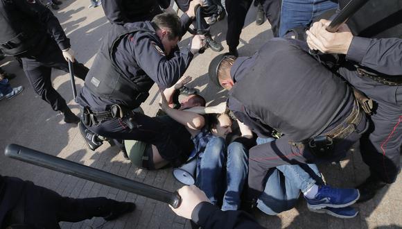 ONG Human Rights Watch expresó su preocupación por los casos de vulneración de derechos humanos en Rusia (Efe).