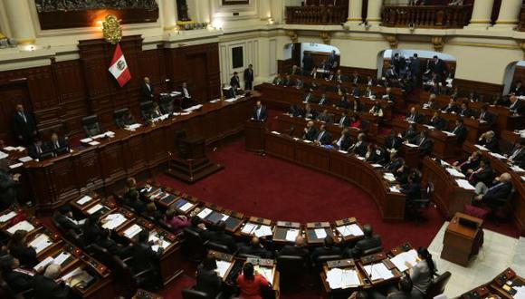 Congresistas aprobaron ayer temas referidos a la reforma electoral.