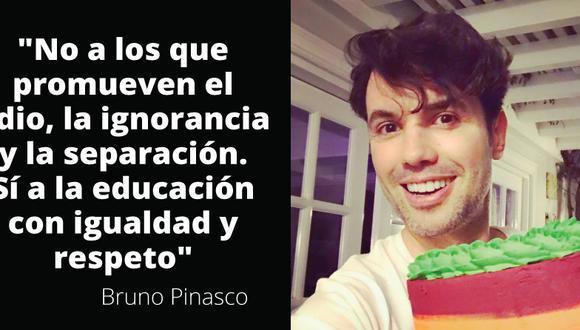 Bruno Pinasco criticó duramente la marcha contra el Currículo Escolar.