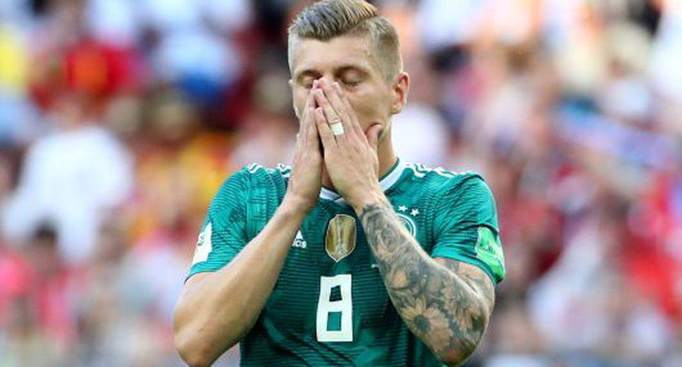 Alemania perdió 2-0 ante Corea del Sur y le dijo adiós al Mundial Rusia 2018. (GETTY)