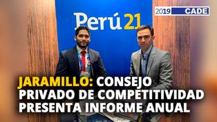 Miguel Jaramillo: Consejo privado de competitividad presenta informe anual [VIDEO]