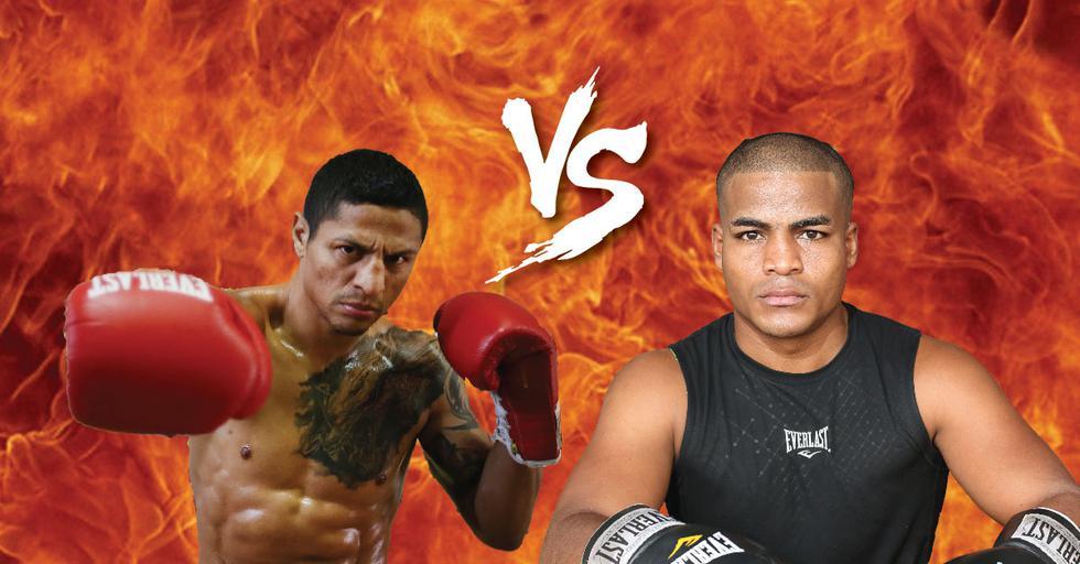 Boxeadores reavivan su eterna enemistad en redes sociales. (Composición)