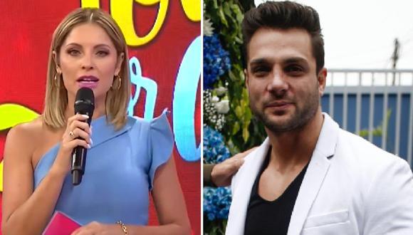 Nicola Porcella tuvo comentario machista contra su compañera Karina Rivera. (Composición)
