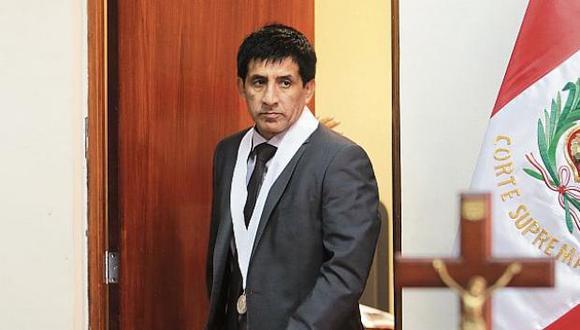"""""""Creo que todos los funcionarios públicos tienen que actuar con independencia. Le hace daño a las instituciones cuando se capturan los poderes del Estado"""", señaló el juez Concepción Carhuancho. (Foto: GEC)"""