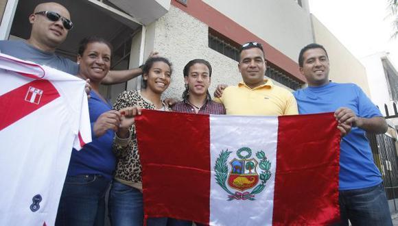 BIEN RECIBIDO. Mediocampista del Real Madrid alegró a su familia y a todo el Perú con su gol. (USI)