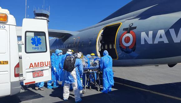Puno: médico grave por COVID-19 fue trasladado a Lima y lucha por su vida