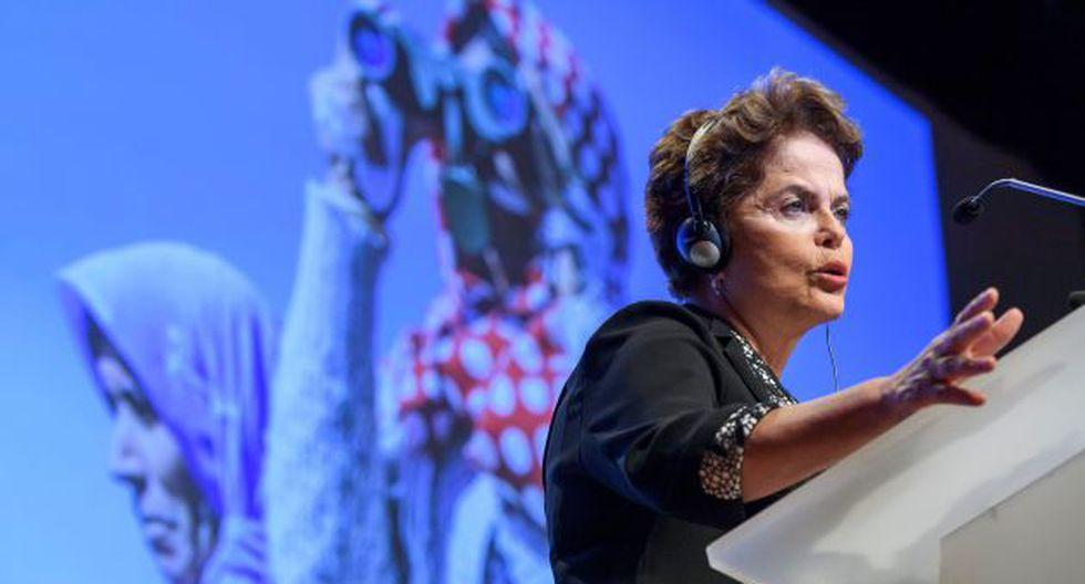 Dilma Rousseff critica al presidente Michel Temer y rechaza haber recibido dinero de Odebrecht (AFP).