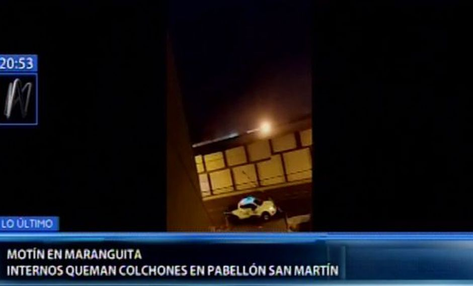 El motín ocurrió en el pabellón San Martín. (Canal N)