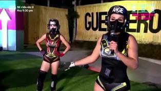"""Rosángela indignada por abandono de competencia de Angie Arizaga: """"Yo quiero ganar. Eso no me gusta"""""""
