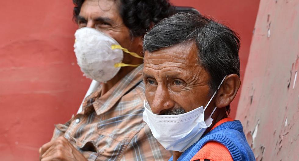 El gobierno del Perú confirmó este sábado 6.848 casos confirmados por coronavirus. (Cris Bouroncle / AFP / Referencial).