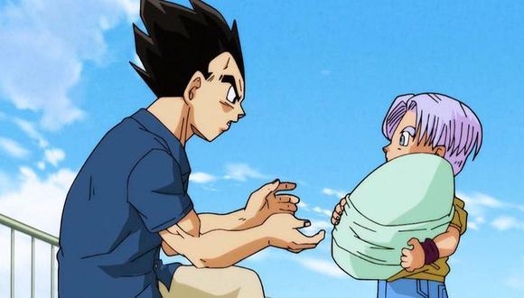 """""""Dragon Ball Super"""": Vegeta y su familia protagonizan tiernas imágenes. (Foto: Toei Animation)"""