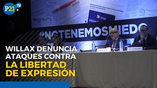 """Caso Willax: Abogado Luis Lamas Puccio dice que """"se está politizando y criminalizando la libertad de expresión y prensa"""""""