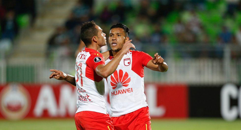 Santiago Wanderers, verdugo de FBC Melgar, cayó en el primero de sus duelos contra Independiente Santa Fe de Colombia. (REUTERS)