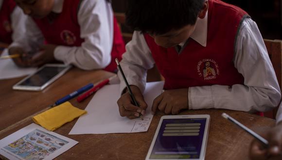 Gobierno anunció que el próximo año el sector educación tendrá un presupuesto de S/ 32,715 millones. (Foto: GEC)