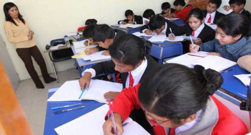 Esta semana culminan clases escolares en Lima y Callao