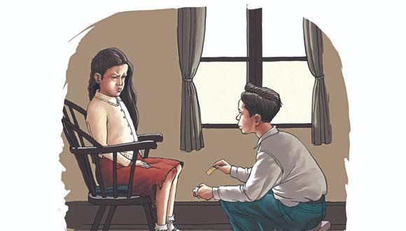 Una novela por entregas. Ilustrada por Mechacin (Mechain).