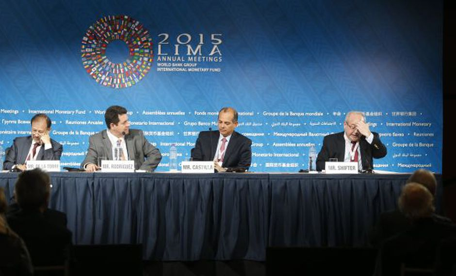 Junta de gobernadores. Se discutieron temas relacionados al mercado laboral en la región. (Mario Zapata)