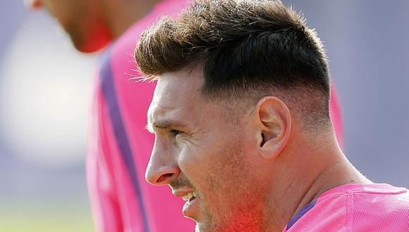 Con peinado estilo 'marine'. (Reuters)