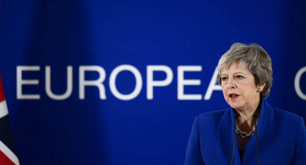 La primera ministra británica mantiene esperanzas de abrir el Reino Unido al comercio post Brexit. (Foto: AFP)