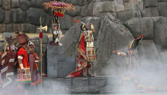 El Inti Raymi también se realizó sin público el año pasado debido a la pandemia por el COVID-19. (Foto archivo: El Comercio)