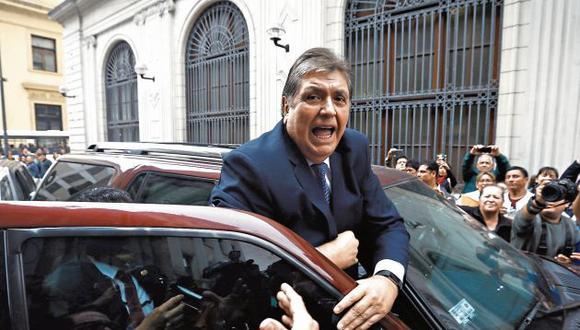 """""""Demuéstrenlo pues, imbéciles"""", dijo el líder aprista, el pasado 15 de noviembre, sobre las acusaciones fiscales. (Perú21)"""