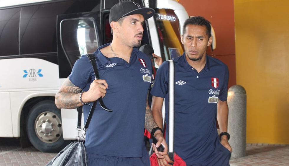 Juan Vargas y Carlos Lobatón fueron confirmados en la oncena titular por Markarián. (Difusión)