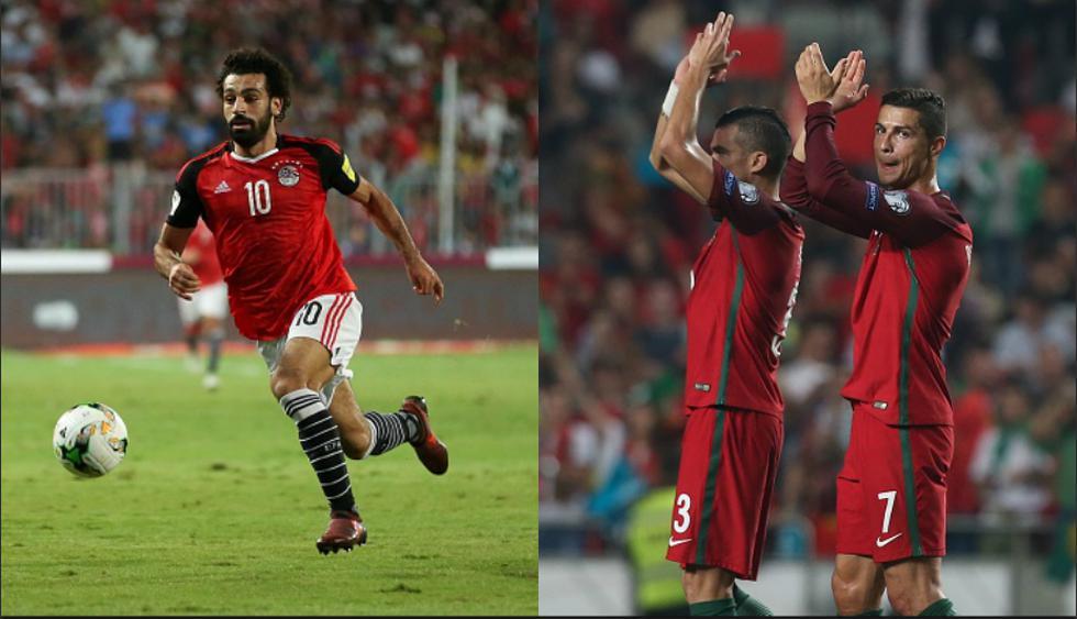 Salah y Cristiano son las grandes figuras de sus naciones. (Getty Images)