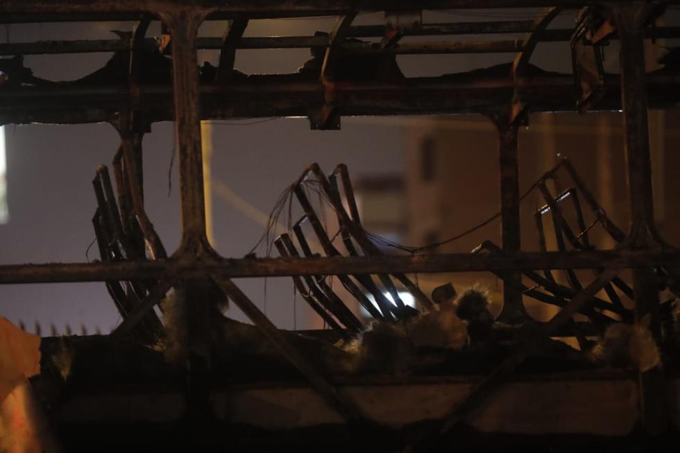 Tragedia en ex terminal Fiori: Bomberos confirman 17 muertos y 7 heridos. (Renzo Salazar/GEC)