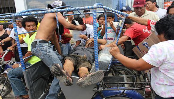 La violencia en Paita dejó dos muertos la semana pasada. (Perú21)