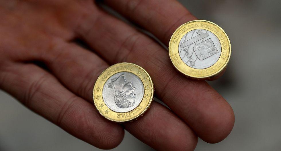 Esta es la nueva moneda de un bolívar. (AFP)