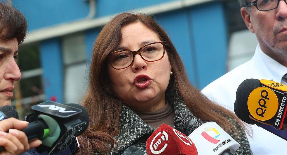 Ana María Mendieta, ministra de la Mujer, fue mencionada en una conversación entre el congresista Mauricio Mulder y el empresario Mario Mendoza. (USI)