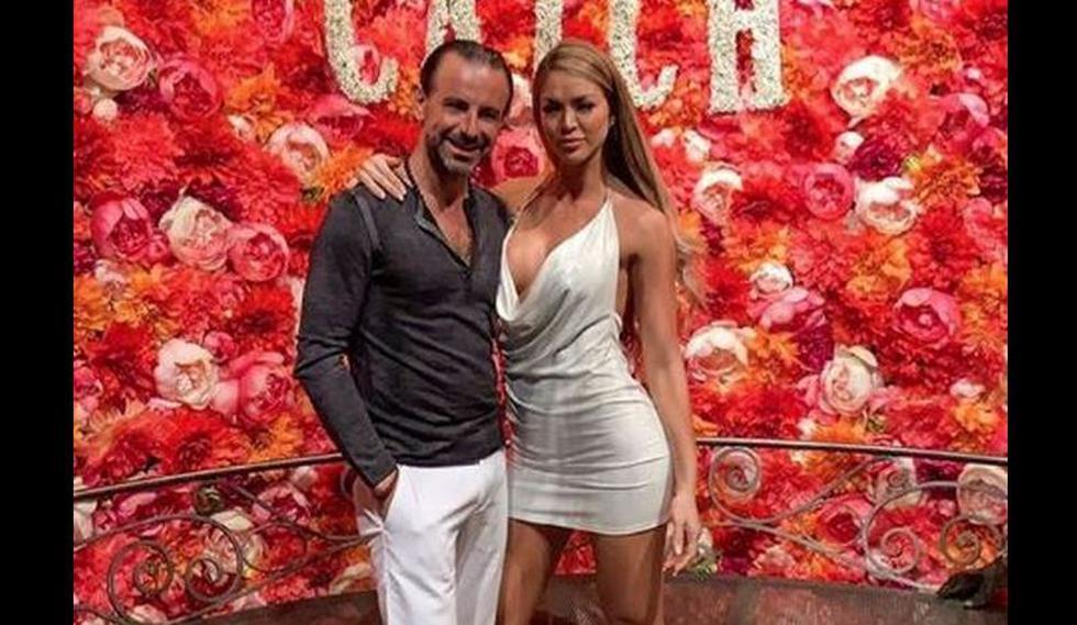 En limusina por Las Vegas: Sheyla Rojas se luce así con Fidelio Cavalli por su cumpleaños. | Instagram