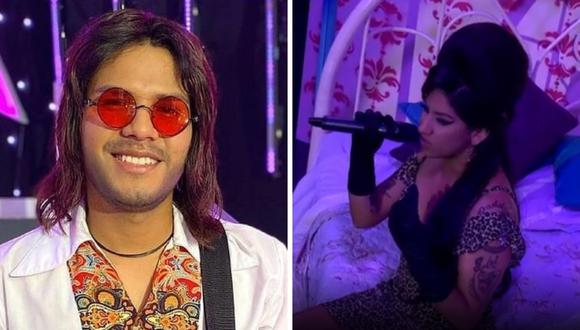 """El imitador de """"Marcelo Motta"""" venció a """"Amy Winehouse"""" en """"Yo Soy"""". (Foto: Instagram / @yosoyperupaginaoficial)."""