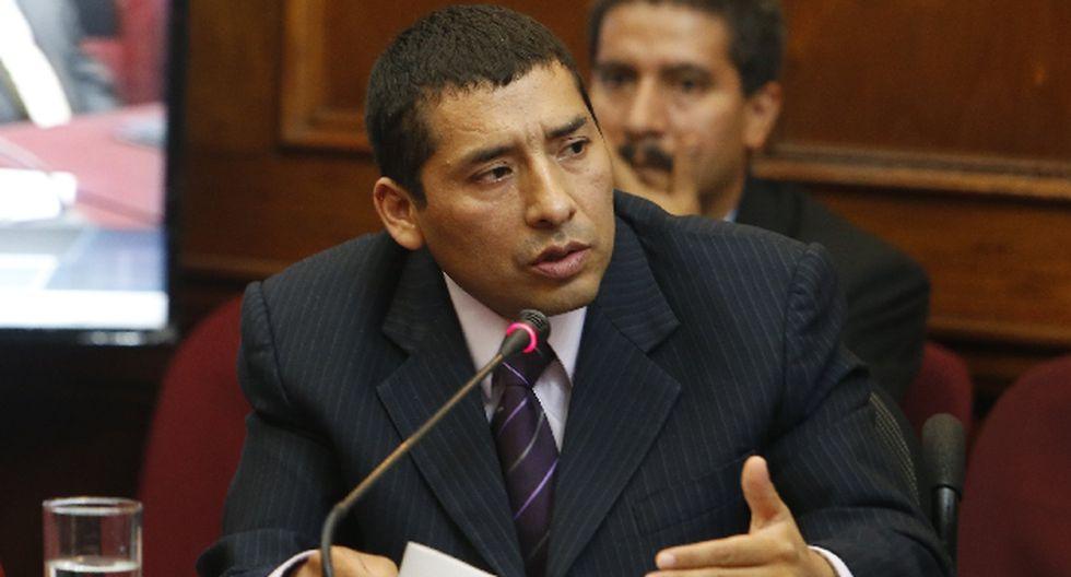 Jhon Reynaga en la mira de la Comisión de Ética. (Perú21)